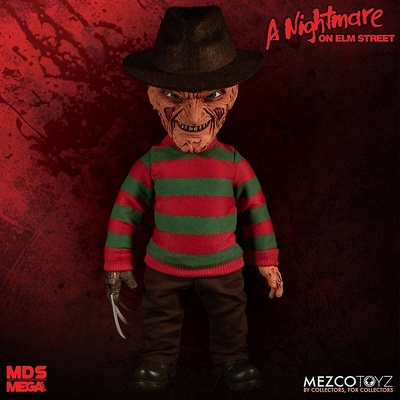 Pesadilla en Elm Street Figura Parlante Mega Scale Freddy Krueger 38 cm