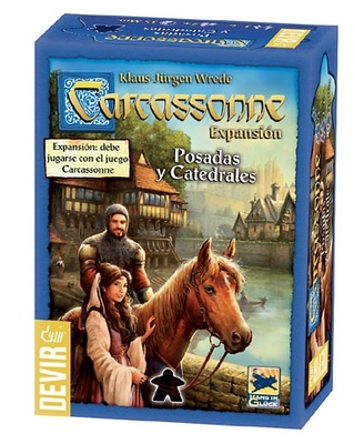Posadas y Catedrales Carcassonne Expansion