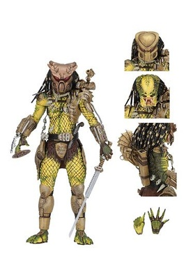 Predator 1718 Figura Ultimate Elder: The Golden Angel 21 cm