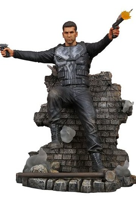 Punisher TV Series Marvel Gallery Estatua Punisher Version 2 23 cm