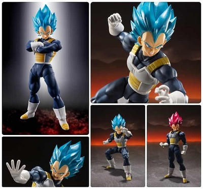 SUPER SAIYAN GOD SUPER SAIYAN VEGETA SUPER FIGURA 14 CM DRAGON BALL SUPER SH FIGUART