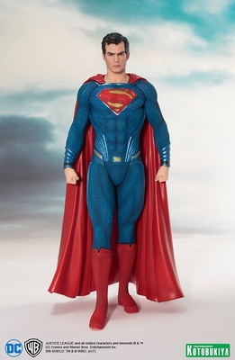 SUPERMAN ESTATUA 19 CM JUSTICE LEAGUE MOVIE ART FX+