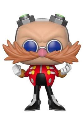 Sonic The Hedgehog POP! Games Vinyl Figura Dr. Eggman 9 cm