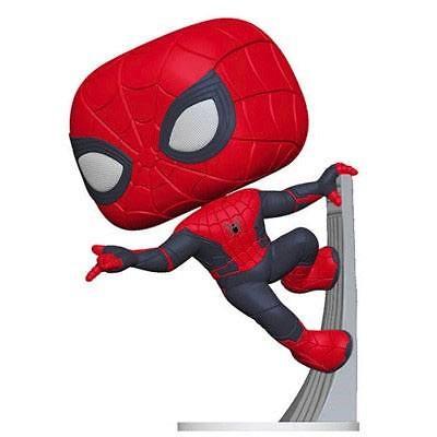 Spider-Man: Far From Home POP! Movies Vinyl Spider-Man (Upgraded Suit) 9 cm