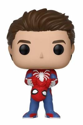 Spider-Man POP! Games Vinyl Figura Unmasked Spider-Man 9 cm