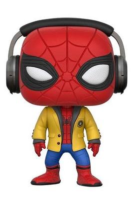 Spider-Man de regreso a casa POP! Marvel Vinyl Figura Spider-Man (Headphones) 9 cm