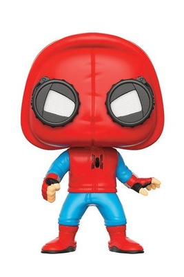 Spider-Man de regreso a casa POP! Marvel Vinyl Figura Spider-Man (Homemade Suit) 9 cm