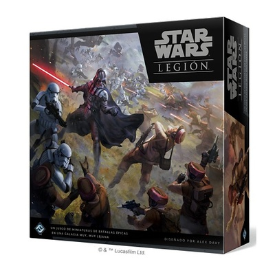 Star Wars Legion (castellano) CAJA BASICA