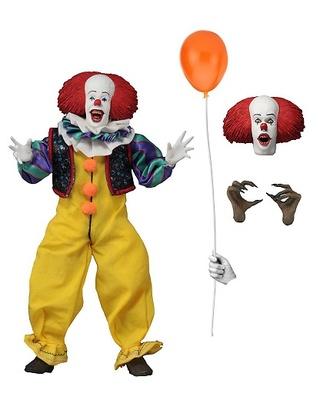 Stephen King's It 1990 Figura Retro Pennywise 20 cm