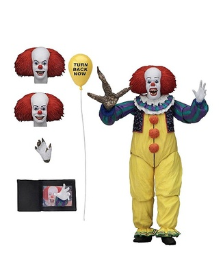 Stephen King's It 1990 Figura Ultimate Pennywise Version 2 18 cm