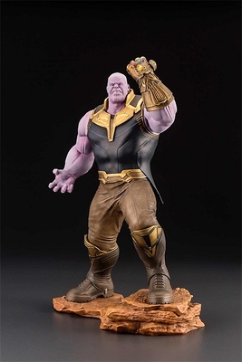 THANOS ESTATUA 28 CM MARVEL AVENGERS INFINITY WAR ART FX+
