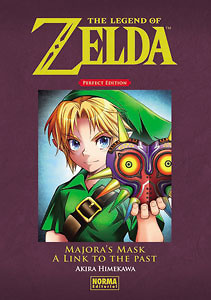 THE LEGEND OF ZELDA PERFECT EDITION 2: MAJORA'S MASK Y A LINK TO THE PAST