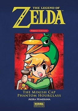 THE LEGEND OF ZELDA PERFECT EDITION 3: THE MINISH CAP Y PHANTOM HOURGLASS