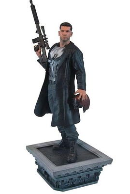THE PUNISHER NETFLIX TV FIGURA 30 CM PVC DIORAMA MARVEL GALLERY