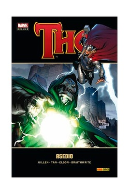 THOR nº 4 ASEDIO (MARVEL DELUXE)