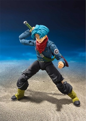 TRUNKS FUTURE FIGURA 14 CM DRAGON BALL SUPER SH FIGUARTS