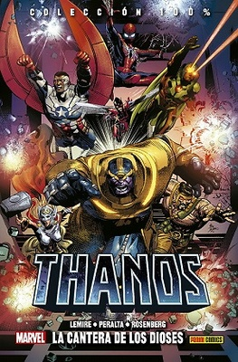 Thanos nº 2  La cantera de los dioses