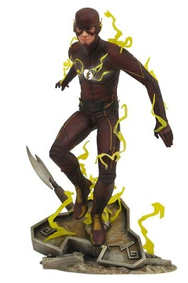 The Flash TV Series DC Gallery Estatua The Flash 23 cm