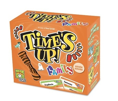 Time´s Up  Family 2 version naranja