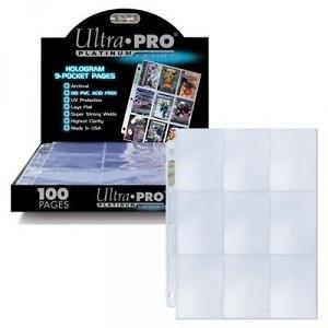Ultra Pro Hoja 9 bolsillos