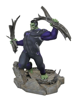 Vengadores: Endgame Diorama Marvel Movie Gallery Tracksuit Hulk 23 cm