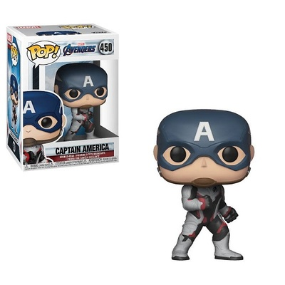 Vengadores Endgame Figura POP! Movies Vinyl Captain America 9 cm