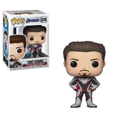 Vengadores Endgame Figura POP! Movies Vinyl Tony Stark 9 cm