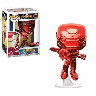 Vengadores Infinity War Figura POP! Movies Vinyl Iron Man Red Chrome Target Exclusive 9 cm