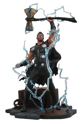 Vengadores Infinity War Marvel Gallery Estatua Thor 23 cm