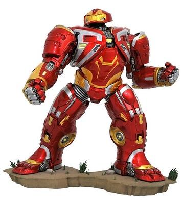 Vengadores Infinity War Marvel Movie Gallery Estatua Deluxe Hulkbuster MK2 25 cm