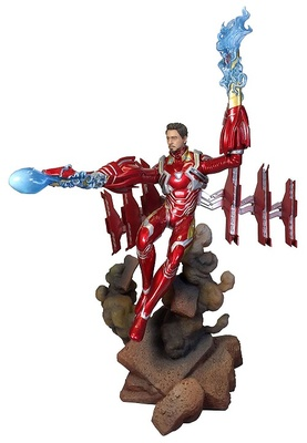 Vengadores Infinity War Marvel Movie Gallery Estatua Iron Man MK50 Unmasked 23 cm