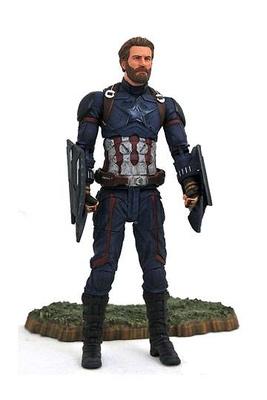 Vengadores Infinity War Marvel Select Figura Captain America 18 cm