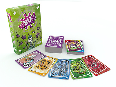 Virus Juego de cartas