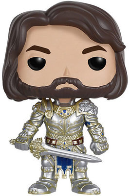 Warcraft El Origen POP! Movies Vinyl Figura King Llane 9 cm