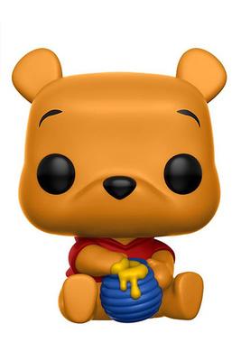 Winnie Pooh Figura POP! Disney Vinyl Seated Pooh 9 cm