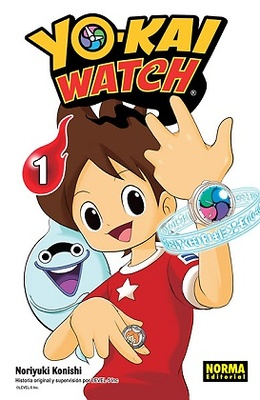 YO-KAI WATCH Nº 1