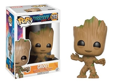 YOUNG GROOT FIG.10 CM VINYL POP GUARDIANS OF THE GALAXY VOL. 2